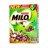 Milo Crunchy Cereal 2 Packs with free golden morn puff 50g x 5