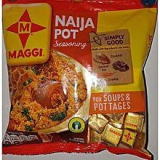 Maggi Naija pot  (50g x 3) with free Naija (Sample pack)