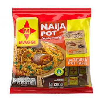 Maggi Naija Pot Seasoning (50 cube x 2)
