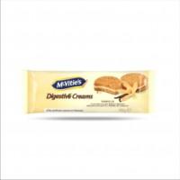 Mcvities Digestive Creams Vanilla 42g 12 x 4