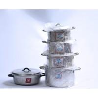 Cooking Pot -Set of 4 (16,18,21.23,)cm with Sauce Pan