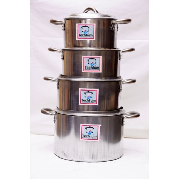 Cooking Pot - Set of 4 (16,18,21.23,)cm