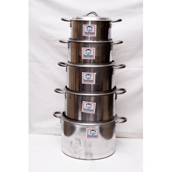 Cooking Pot - Set of 5 (16,18,20.22,24)cm