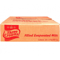 Three Crowns Filled Evaporated Milk 170g x 48 (carton)
