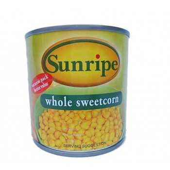 Sunripe Whole Sweetcorn 340g
