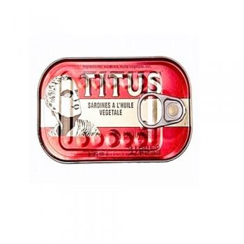 Sardine - Titus (125g x 25)  Half carton