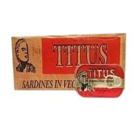 Titus Sardine 125g  x 50 (Carton)